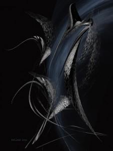 """7. """"Kronos"""" z serii """"Czekając na Wenus"""", © Lucyna Machowska"""